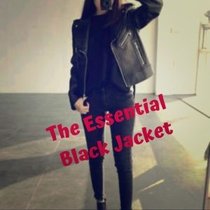 Jackets & Blazers - The Essential Black Jacket